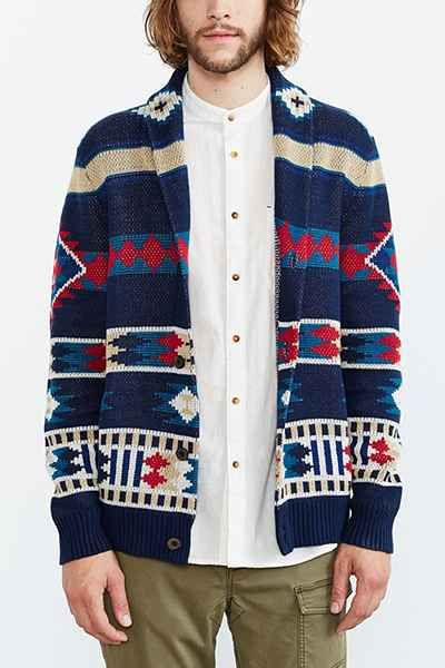 Koto Kikou Engineered Shawl Cardigan - Urban Outfitters