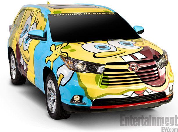 SpongeBob SquareCar Check Out The Cartoons New Wheels - Spongebob car decals