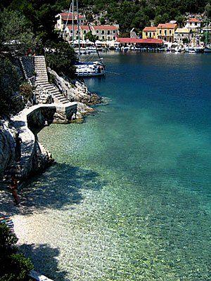 Kioni, Ithaca Island (Ionian), Greece http://www.house2book.com