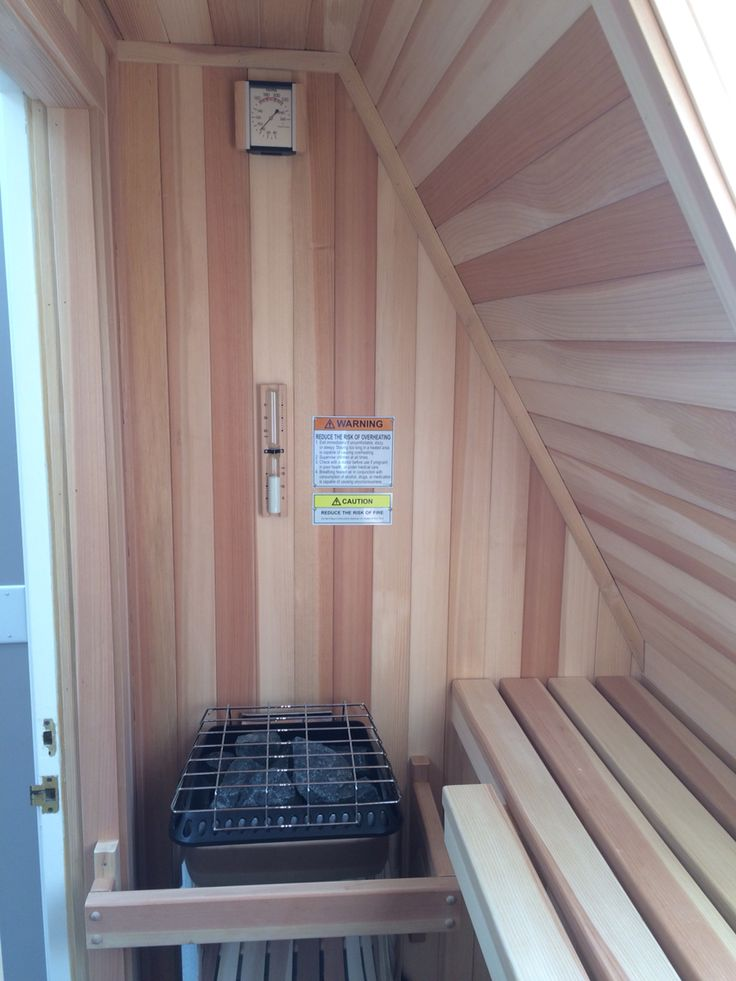 Sauna In An Attic Space Saunas Pinterest Attic