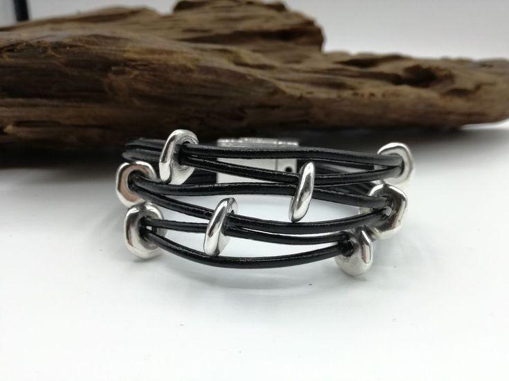 Armband schwarz mit Magnetverschluss