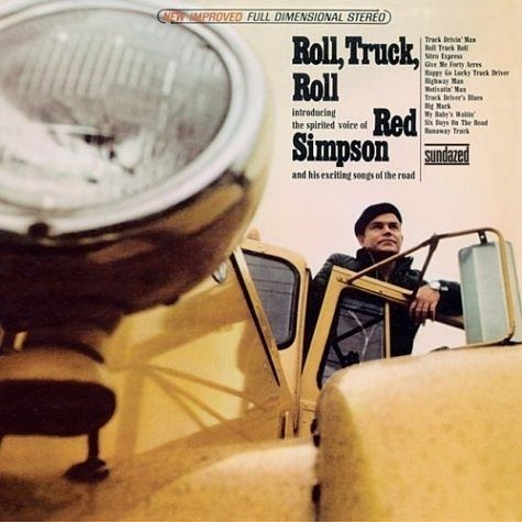 Red Simpson - Roll, Truck, Roll: Trucks, Music Fun, Art Ideas, Rooms Ideas, Favorite Album, Rolls, Music Rooms, Album Art, Red Simpsons