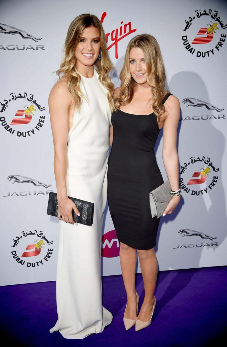 Genie Bouchard and Charlotte Bouchard attend 2015 WTAParty PreWimbledon Party @RalphLauren @GettyVIP @GettyImages. Follow my new board: Eugenie 'Genie' Bouchard 2
