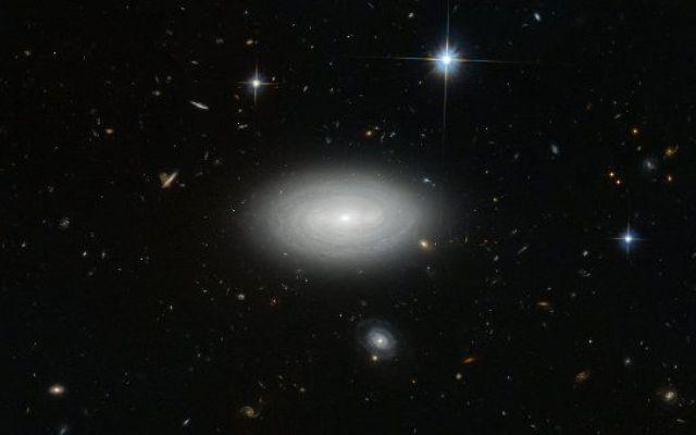 La galassia solitaria LEDA 1852 è stata fotografata dal telescopio spaziale Hubble MCG+01-02-015, conosciuta anche come LEDA 1852, è una galassia solitaria fotografata usando lo strumento Advanced Camera for Surveys (ACS) del telescopio spaziale Hubble. #vuotocosmico #supervuoto