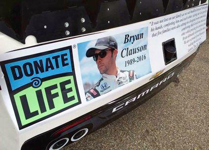 NASCAR Race Mom: Joey Gase Honors Fellow Racer Bryan Clauson