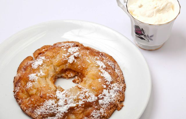A supreme apple torte recipe from Anna Hansen makes the perfect snack or dessert and is delicious served with cream
