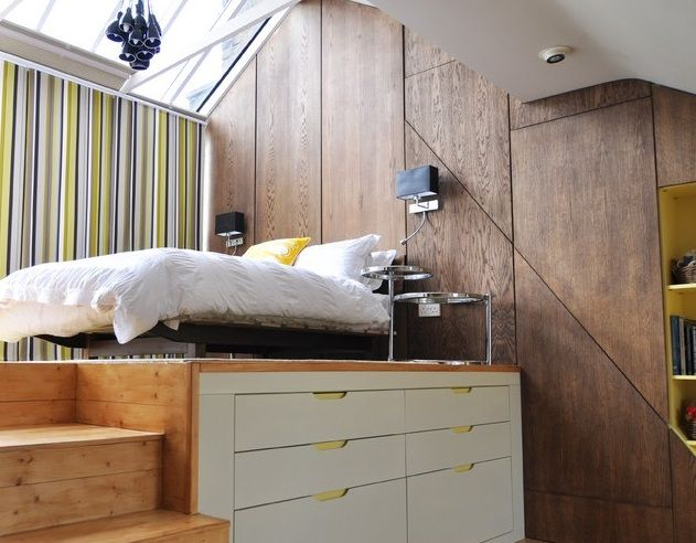 raised bed on a platform