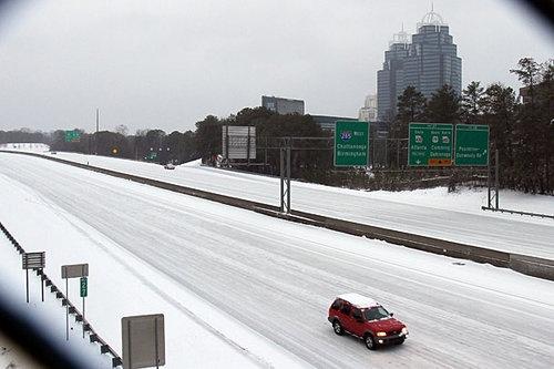 Dunwoody (Atlanta Suburb) January 2011