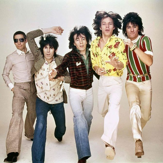 The Rolling Stones European Tour 1976 In 2021 Rolling Stones 70s Party Theme Keith Richards