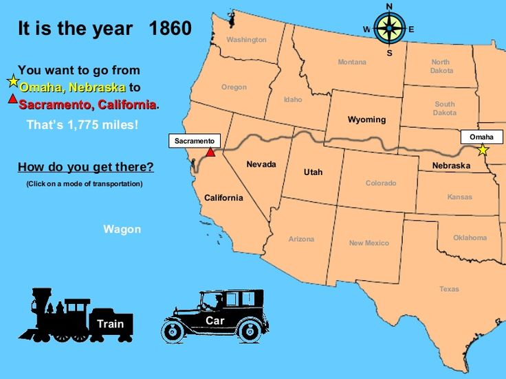 the transcontinental railroad and westward expansion Westward expansion during the 19th century required speedier ways to  the  transcontinental telegraph (1861) and transcontinental railroad (1869).