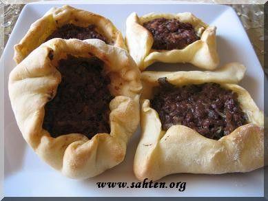 Sfiha (galette à la viande) - Cuisine libanaise par Sahten