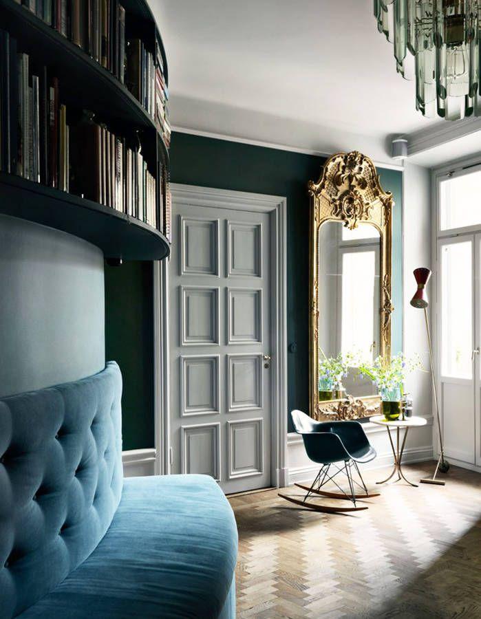 Un salon en cama eu des murs au mobilier peinture for Salle a manger jelle