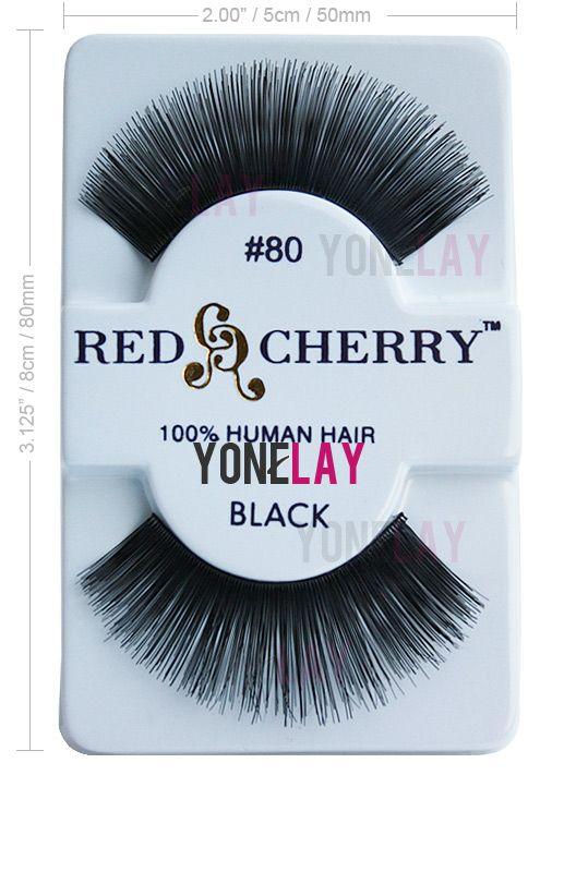 Red Cherry #80, Red Cherry Eyelashes #80, Red Cherry lashes #80
