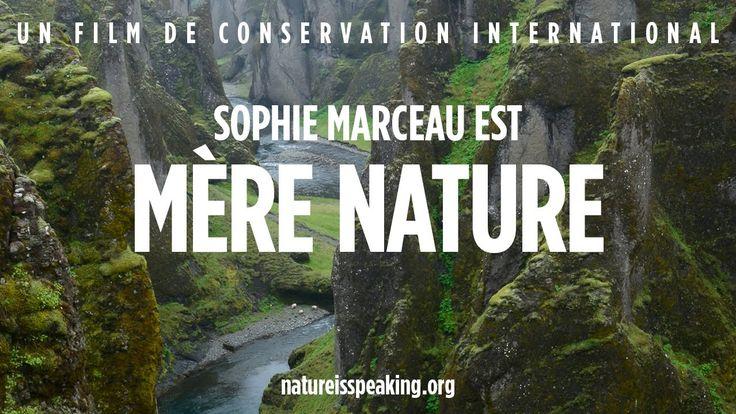La Nature Parle: Sophie Marceau est Mère Nature