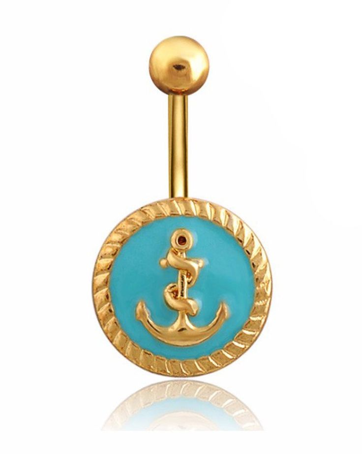 17 best ideas about anchor belly rings on pinterest