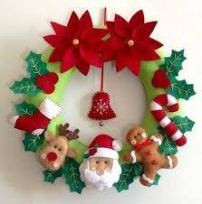 Resultado de imagen para arreglos navideños manualidades