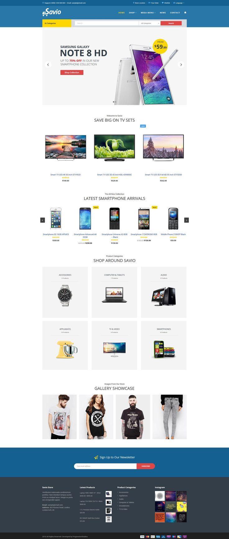 Savio - eCommerce Store Theme #store • Download ➝ https://themeforest.net/item/savio-ecommerce-store-theme/19389024?ref=rabosch