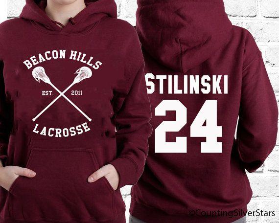 Etsy - Teen Wolf Lacrosse Stilinski hoodie https://www.etsy.com/fr/listing/206751256/teen-wolf-team-marron-a-capuche-stiles