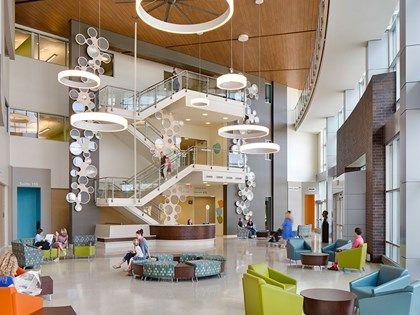 Healthcare Lentz Public Health Center Community Healthcare Design. #healthcare