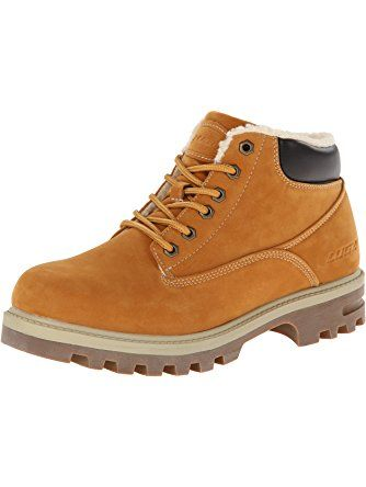 Lugz Men's Empire Fleece WR Thermabuck Boot, Golden Wheat/Cream/Bark/Gum