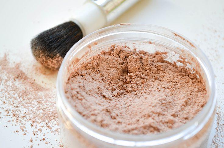 DIY poudre visage teintée