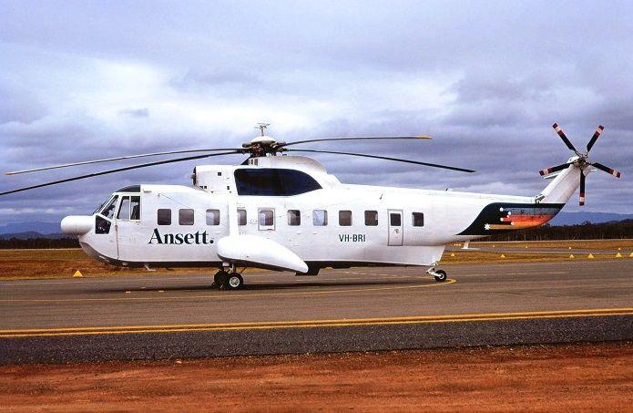 ANSETT Sikorsky S-61N (VH-BRI)