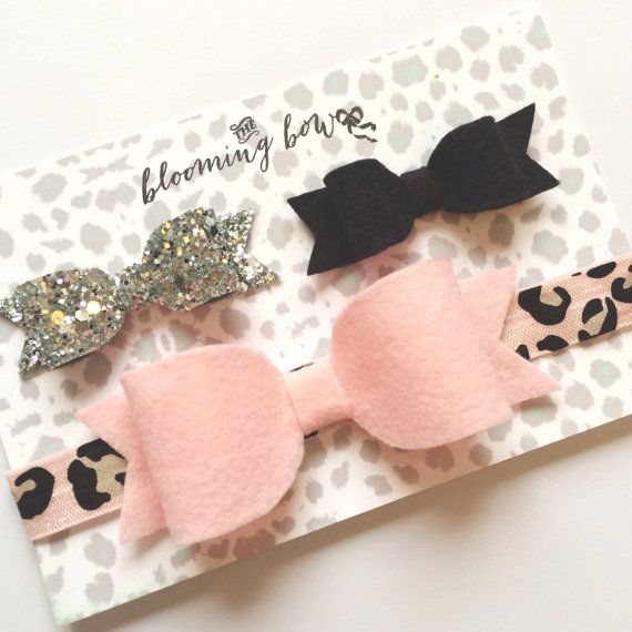 Hey, I found this really awesome Etsy listing at https://www.etsy.com/listing/219650700/girls-and-baby-leopard-cheetah-hair-bow