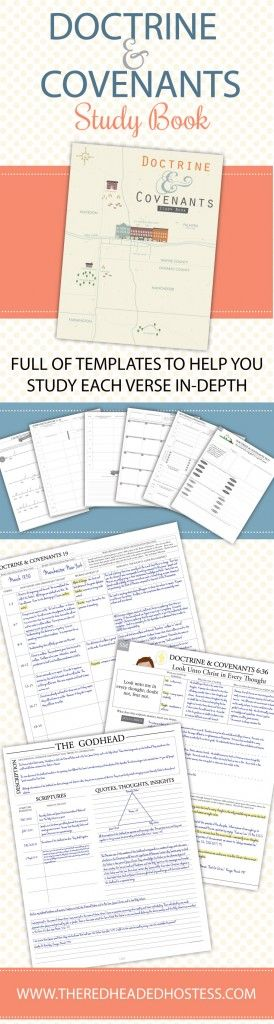 Awesome study book for the Doctrine & Covenants.  You will get SO much out of your scripture study!