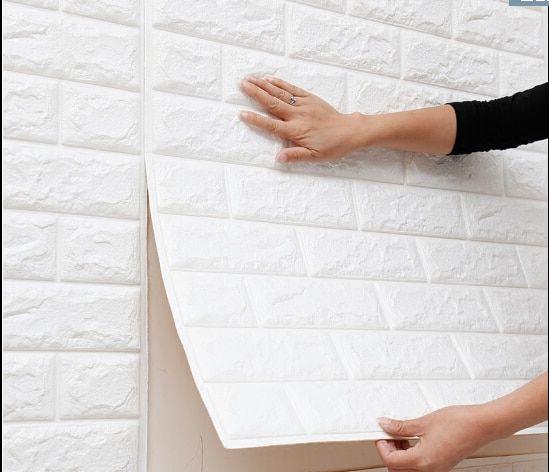 Wall Stickers Self Adhesive Foam Brick Room Decor DIY 3D