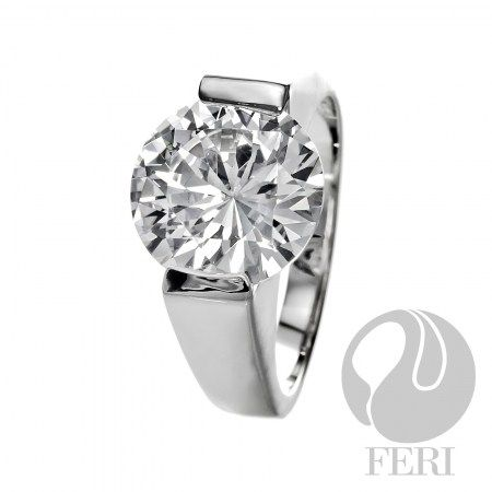 solid .925 sterling silver rings by FERI