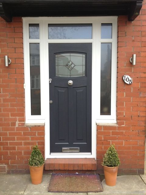 Grey Rockdoor Sale Cheshire  Love the lights