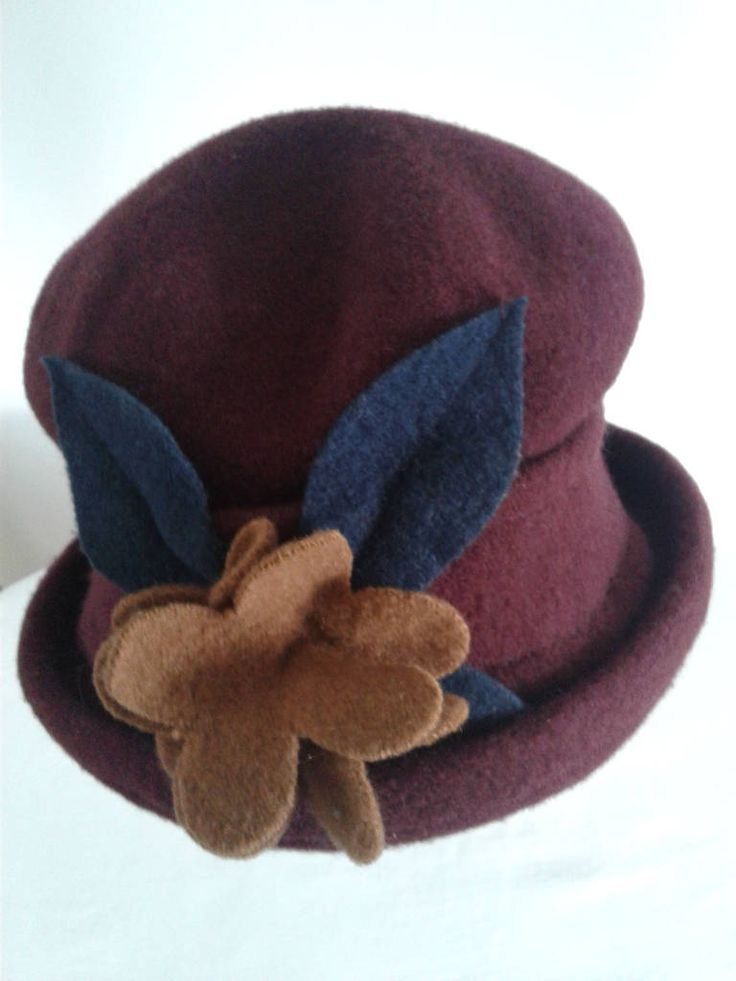 Burgundy Red Wool, Formal Hat, Hats Parkhurst Hat, Wool Hat, Accessories,Hats for Women, by shopevintagewithme on Etsy