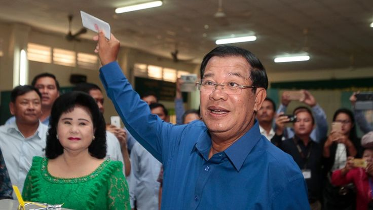 Cambodians are voting in local elections that could shake longtime ruler Hun Sen's grip on power.  Prime Minister Hun Sen has warned of civil war if his Cambodian People's Party loses the majority in city and village councils to the main opposition party that made major gains in... - #Cambodian, #Elections, #Power, #Strongmans, #Testing, #TopStories, #Vote