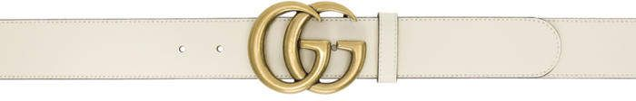Gucci White Marmont Belt #Gucci  #ShopStyle #MyShopStyle click link to see more information