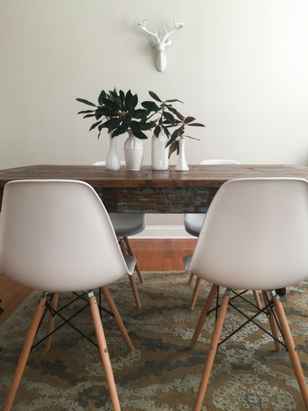 Set Of 4 Modern Dining Chairs Dining Chairs Simple Dining