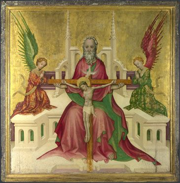 Austrian: 'The Trinity with Christ Crucified' © The National Gallery, London