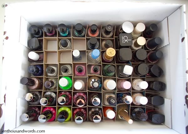 17 best images about nail polish storage ideas on for Nail polish diy projects