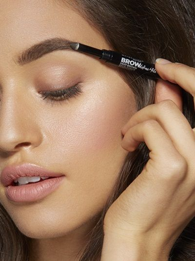 How To Fill Eyebrows with Brow Define & Fill Duo by Maybelline. Eyebrow tutorial to show you how to fill in with powder & define your arch for fuller eyebrows.