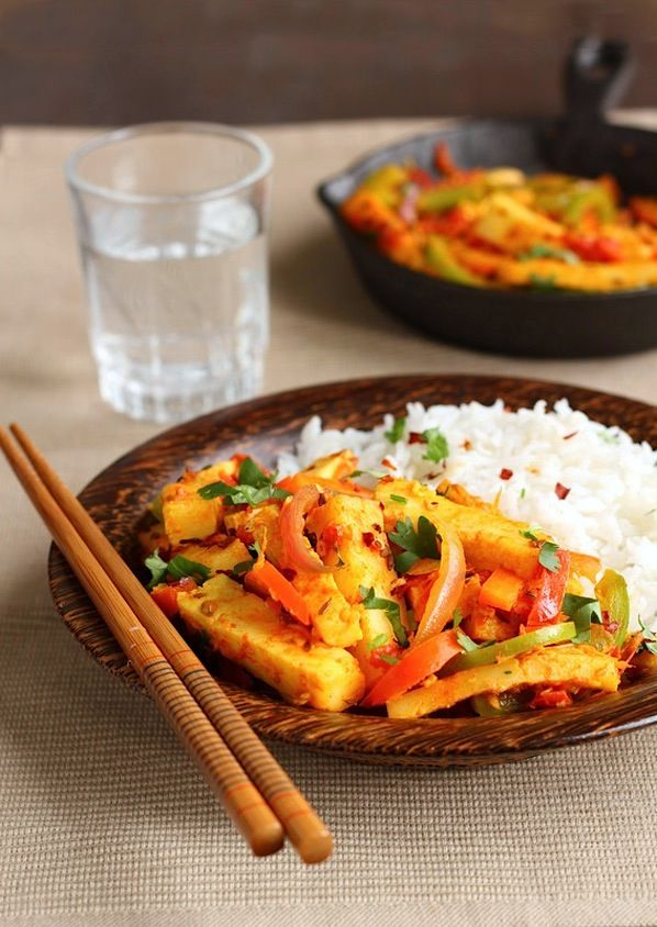 139 best jalfrezi recipes images on pinterest garam masala indian dish paneer jalfrezi substitute queso blanco for the paneer forumfinder Gallery