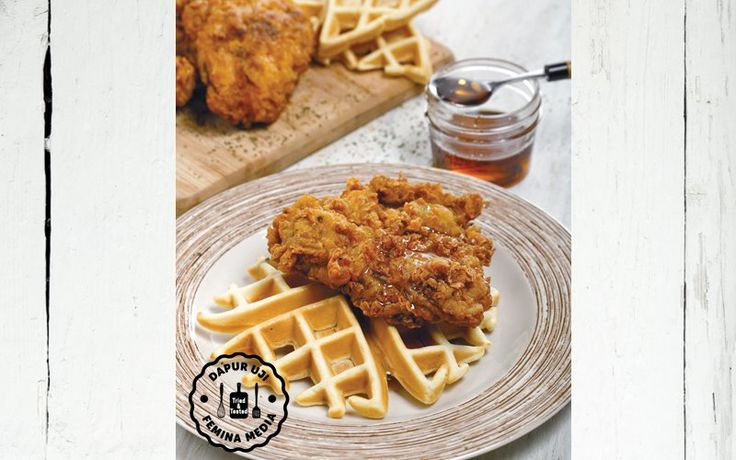 Resep Fried Chicken and Waffle