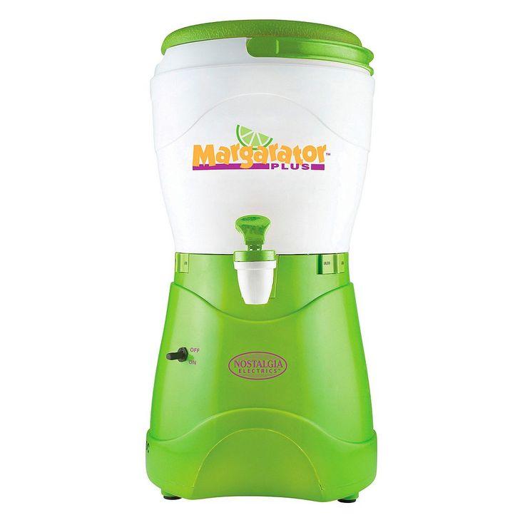 Nostalgia Electrics Margarator Plus 1-Gallon Margarita & Slush Maker, Multicolor