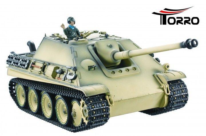 Jagdpanther 2.4 GHz-Edition Airbrush Ørken camouflage - RC Kampvogn  http://www.toytrade.dk/torro/10814-jagdpanther-24-ghz-edition-airbrush-orken-camouflage-rc-kampvogn.html
