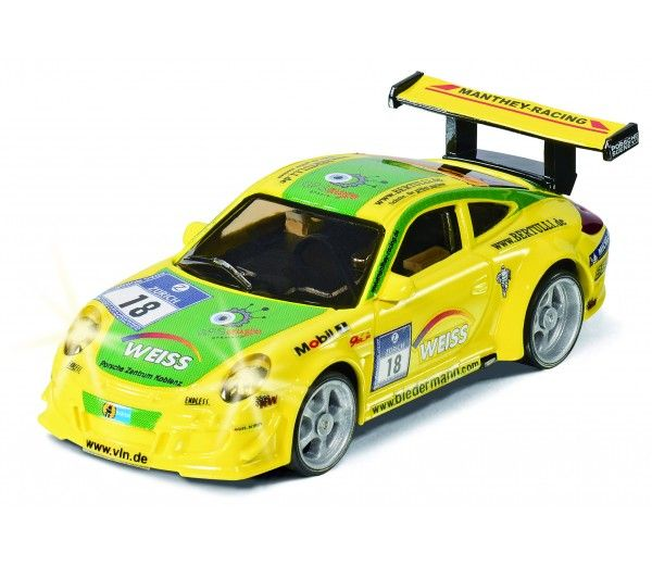 Siku Racing - Porsche 911 GT3 RSR raceauto - 6822: https://www.bentoys.nl/nl/speelgoed/merken/siku/siku-racing/205-porsche-911-gt3-rsr-raceauto.html #speelgoed #racebanen #RC #Siku