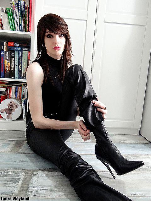 Leather Legs   ♥ Body - ASOS ♥ Pantalon - ASOS ♥ Ankle ...