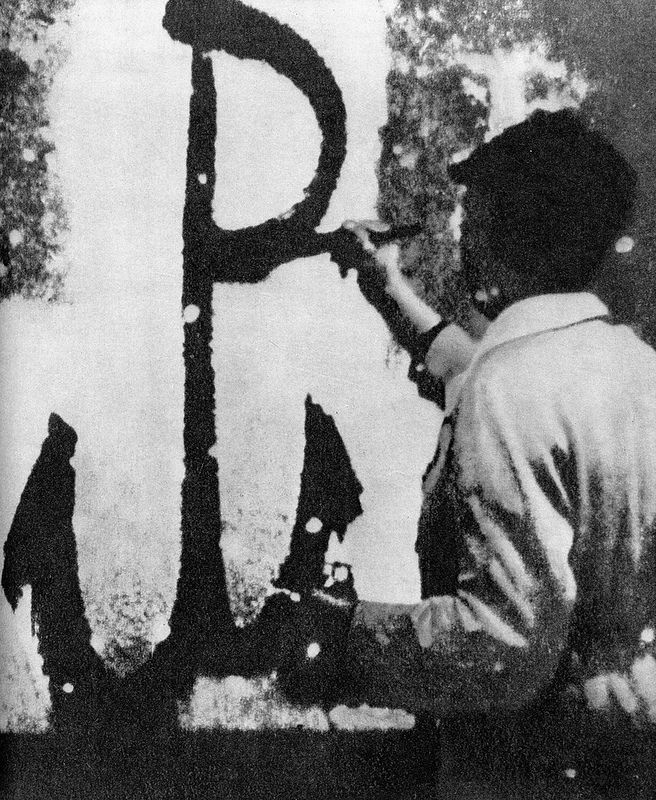 Warsaw Uprising | An Anchor, the symbol of the Polish resistance