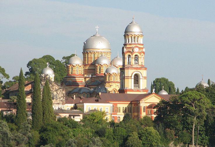Novoafonsky monastyr - Abkhazia - Wikipedia, the free encyclopedia