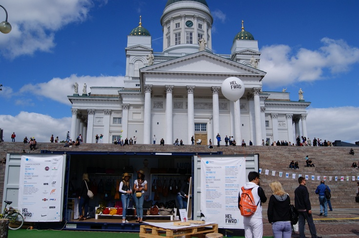 Lumi Accessories store in Helsinki Fashion Village on Senate Square of Helsinki. Photo by myPose! ltd. #lumi