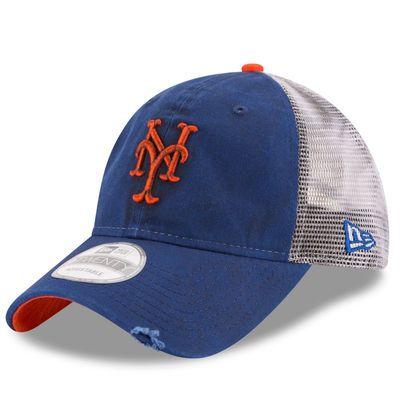 Men's New Era Royal New York Mets Team Rustic 9TWENTY Adjustable Hat