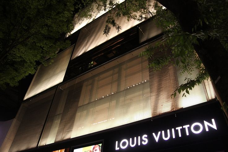 LOUIS VUITTON OMOTESANDO  - 青木淳