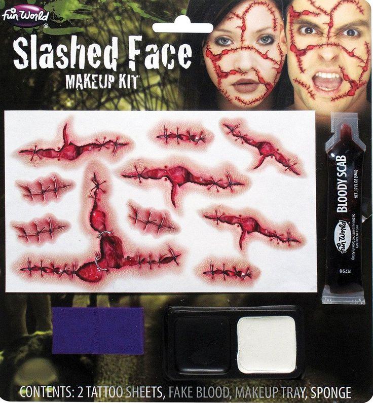 Slashed Face Make Up Kit